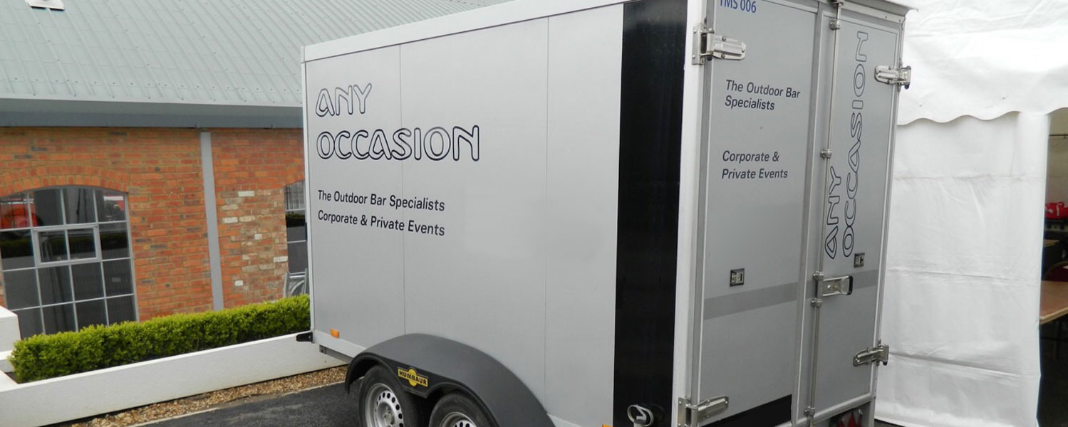 Any occasion fridge trailer for chilling food and drinks