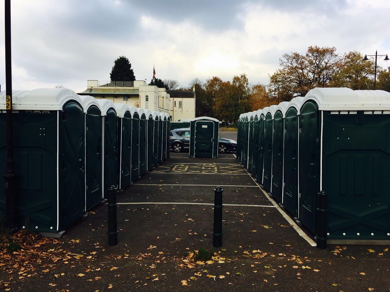 Any occasion event toilets at racecourse Northampton
